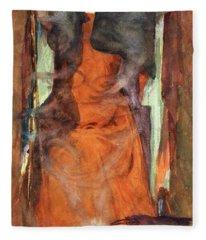 The Sorceress Fleece Blanket