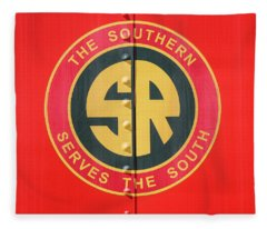 The Southern Serves The South 10 Fleece Blanket