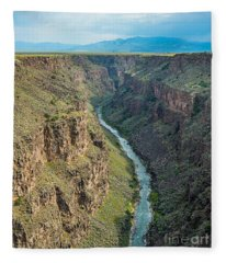 The Southern View Fleece Blanket