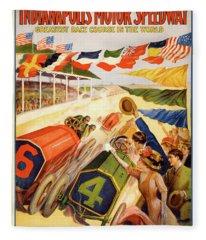 The Speedway Fleece Blanket