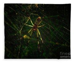The Spider Fleece Blanket