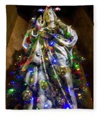 The Spirit Of Christmas Fleece Blanket