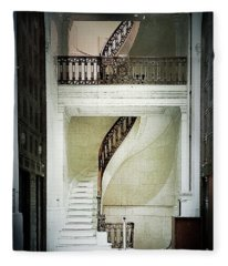 The Staircase Fleece Blanket