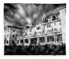 The Stanley Hotel Fleece Blanket