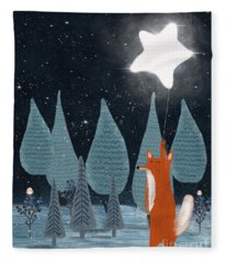 The Star Balloon Fleece Blanket