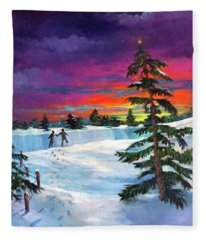The Star/la Estrella Fleece Blanket