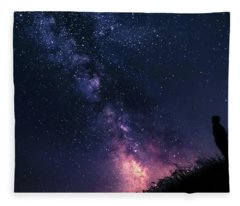 The Stargazer Fleece Blanket