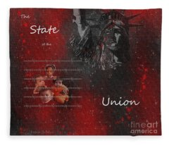 The State Of The Union Fleece Blanket