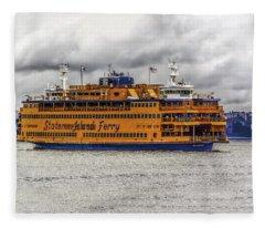 The Staten Island Ferry Fleece Blanket