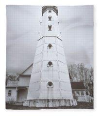 American Steel Photographs Fleece Blankets