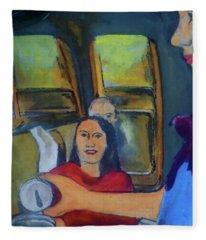 The Stewardess Fleece Blanket