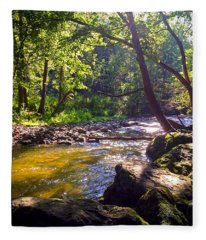 The Stream Fleece Blanket
