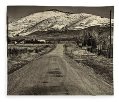 The Street Where Roo Lives Fleece Blanket
