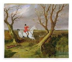 The Suffolk Hunt - Gone Away Fleece Blanket