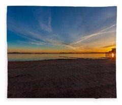 The Sun Also Rises Fleece Blanket