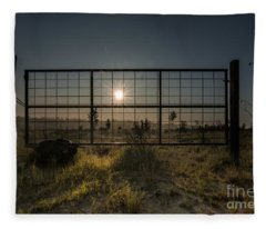 The Sun Is Free Fleece Blanket