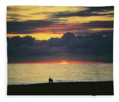The Sundowners Fleece Blanket