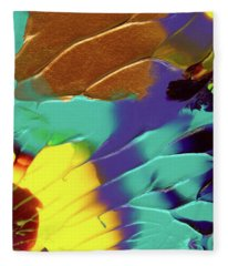 The Sunflower Fleece Blanket