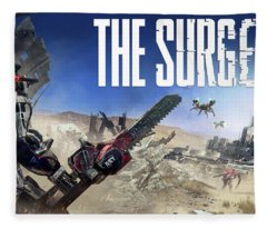 The Surge Fleece Blanket