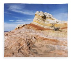 The Swirl Fleece Blanket