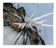 The Sword Of Damocles Fleece Blanket