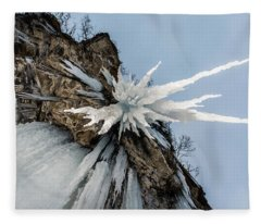 The Sword Of Damocles Fleece Blanket