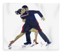 The Tango Fleece Blanket