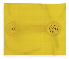 The Telephone Handset Fleece Blanket