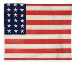 The Thirty-six Star Flag Of The United States Of America Fleece Blanket