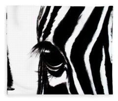 The Three Musketeers - Zebra Fleece Blanket