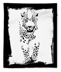 The Three Musketeers - Leopard Fleece Blanket