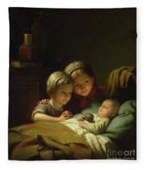 The Three Sisters Fleece Blanket