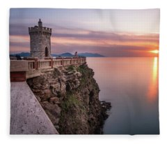The Tiny Lighthouse Fleece Blanket