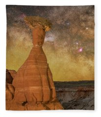 The Toadstool And The Core Fleece Blanket