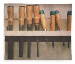 The Tools Of The Trade Fleece Blanket