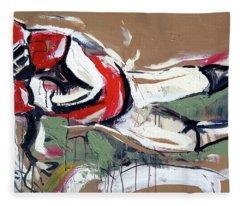 The Touchdown Fleece Blanket