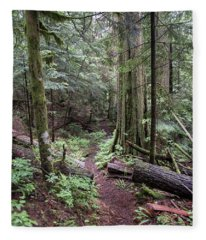 the Trail Fleece Blanket