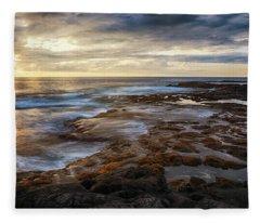 The Tranquil Seas Fleece Blanket