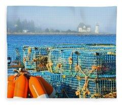 The Traps Fleece Blanket
