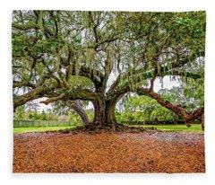 The Tree Of Life Fleece Blanket
