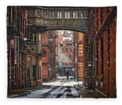 The Tribeca Skybridge Fleece Blanket