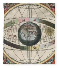 The Universe Of Ptolemy Harmonia Fleece Blanket