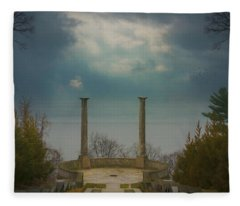 The Untermyer Idyll Fleece Blanket