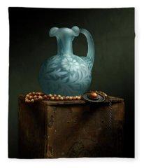 The Vase Fleece Blanket