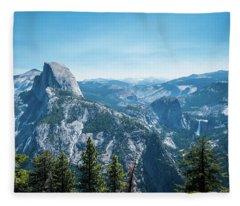 The View- Fleece Blanket