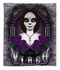The Virgin Virgo Spirit Fleece Blanket