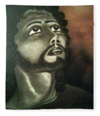 The Vision Of St. Christopher Fleece Blanket