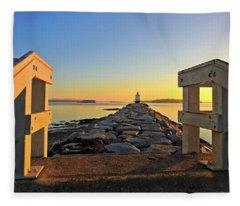 The Walkway Fleece Blanket