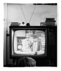Phoenix Television Circa 1971 Fleece Blanket