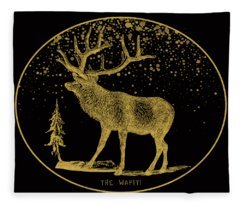 The Wapiti Fleece Blanket